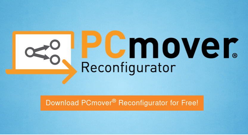 PCmover Reconfigurator for Windows PCs